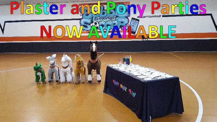 Plaster Pony Party