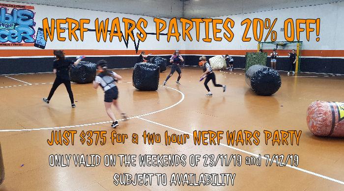 Nerf Wars Deal